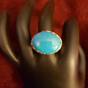 Sleeping Beauty TURQUOISE  RING/STERLING